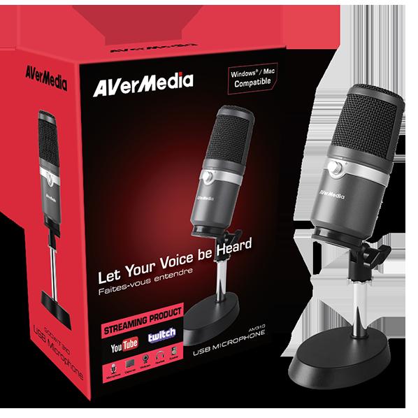 USB Microphone AM310  - Фото 6